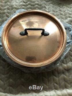 Matfer Bourgeat 10 Piece Bourgeat Copper Cookware Set Stainless Steel Lining