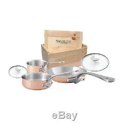 Mauviel M'3s 5 Piece Cookware Set