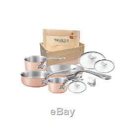 Mauviel M'3s 7 Piece Cookware Set