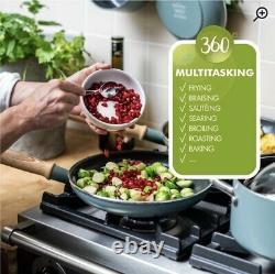 Mayflower 8 Piece Ceramic Non Stick Cookware Set