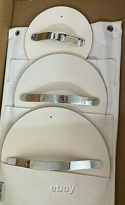 NEW Caraway 7-Piece Cookware Set Non-Toxic Non-Stick Ceramic Coated Off White