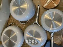 NEW Caraway 7-Piece Cookware Set Non-stick Ceramic Coated Non-Toxic Gray color