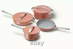 NEW Caraway 7-Piece Cookware Set Non-stick Ceramic Coated Non-Toxic Perracotta