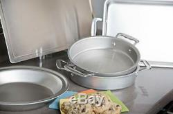 New 360 Cookware 5-Piece Stainless Steel Bakeware Set