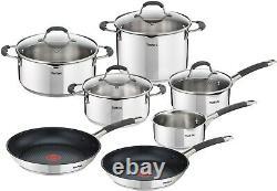 New Tefal ILLICO Cookware Set, 11pcs, G701SB74,11piece(s), set contains sets