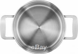 New ZWILLING Base Cookware 5 Piece Set Casserole Saucepan Kitchen Genuine Save
