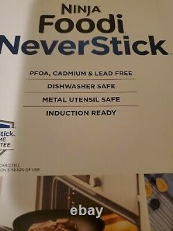 Ninja Foodi NeverStick 11-Piece Cookware Set Guaranteed Never To Stick NEW NIB