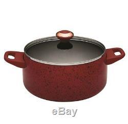 Paula Deen Signature Nonstick 15-Piece Porcelain Cookware Set Red New In Box