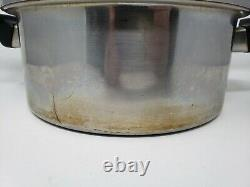 Piece Royal Prestige 7 Ply S. S. Titanium Silver Alloy-Copper Cookware Set USA