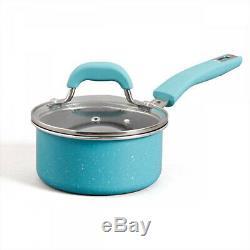 Pioneer Woman Vintage Speckle 10 Piece Non-Stick Cookware Set- Multiple Colors