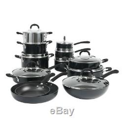 ProCook Gourmet Induction Non-Stick Strain and Pour Cookware Set 12 Piece