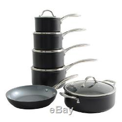 ProCook Professional Ceramic Induction Non-Stick Cookware Set 6 Piece