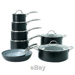 ProCook Professional Ceramic Induction Non-Stick Cookware Set 8 Piece
