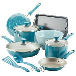RACHAEL RAY Get Cooking 12-Piece Non Stick Pots and Pans Cookware Set