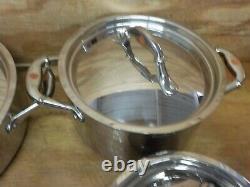 Ruffoni 99290 Symphonia Prima 7 Piece Cookware Set, Medium, Steel