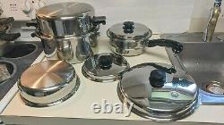 SALADMASTER T304S Stainless 7 Piece Cookware