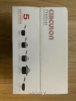 SEALED Circulon Premier Professional Cookware Set Black 5 Piece