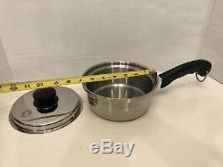 Saladmaster T304S Stainless Steel Cookware Set- 14 Piece Lot- Great Condition