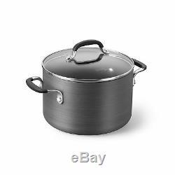 Simply Calphalon Nonstick 10 Piece Cookware Set (SA10H) 10-Piece