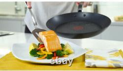 T-fal Cookware Set Classic Vented Glass Non-Stick Oven Safe Aluminum 10-Pieces