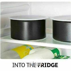 Tefal Non-stick 14 Piece INGENIO Essential Pots & Frypan Cookware Set Black