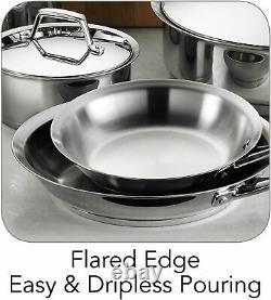 Tramontina Gourmet Prima Stainless Steel 12 Piece Cookware Set NEW