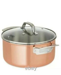 Viking 13-Piece Tri-Ply Copper Cookware Set