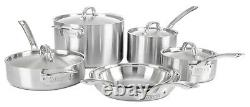 Viking Professional 5-Ply Stainless Steel 10 Piece Cookware Set