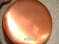 Vintage USA NOS Revere Ware Copper Clad HUGE 13 Piece Set No 1400 NEW