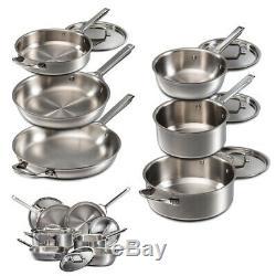 Wolf Gourmet 10 Piece Cookware Set. Wgcw100s