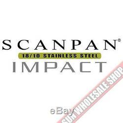 100% Authentique! Ensemble De Batterie De Cuisine Scanpan Impact 18/10 S / S 5 Pièces! Pvc 549,00 $