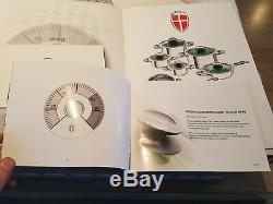 12 Pièces Swiss Batterie De Cuisine Casserole Set'thermo-control ', 30 Yr Wrnty. Prix ess