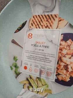 16 Pièces Masterclass Premium Cookware /bakeware Speckled Blue Set