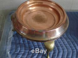 7 Piece Antique Vintage Copper Cookware Set-suisse-savoir Vivre
