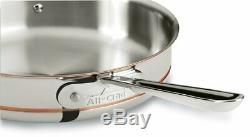 All-clad 14 Piece Pc 5 Ply Cuivre Noyau En Acier Inoxydable Poli Cookware Setnew