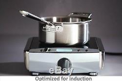 All-clad D5 Poli Inoxydable 18/10 5 Ply Set Bonded Batterie De Cuisine (votre Choix)