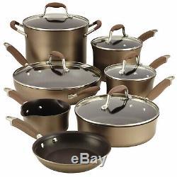Anolon Avancée Bronze 12 Piece Cookware Set