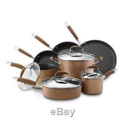 Batterie De Cuisine 11 Pièces Antiadhésive Anolon Advanced Bronze 82693