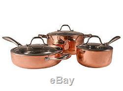 Batterie De Cuisine 6 Pièces Fancy Cook, 5 Pièces En Cuivre, Super Vente