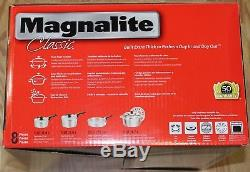 Batterie De Cuisine 8 Pièces En Aluminium Moulé Classique Magnalite, 1040814, Neuve
