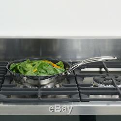 Batterie De Cuisine À Induction En Acier Inoxydable Procook Professional, 6 Pièces