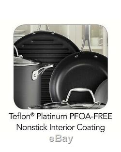 Batterie De Cuisine Antiadhésive De 15 Pièces De Tramontina Kitchen Pots Pans Cooking Pan