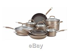 Batterie De Cuisine Bronze Dur Anodisée Heavy Duty 13 Piece Non Stick Pots Et Casseroles Set