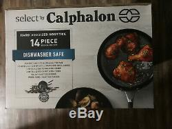 Calphalon 14 Piece Anodisé Batterie De Cuisine Antiadhésive 2046319