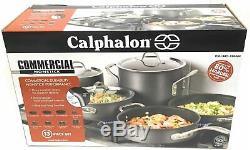Calphalon Batterie De Cuisine 13 Pièces Commercial Antiadhésives