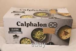 Calphalon Classic Pots And Pans Set, Ensemble D'ustensiles De Cuisine Antiadhésifs De 10 Pièces, Gris