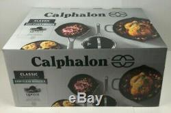 Calphalon Classique Antiadhésives 10 Pièces Batterie De Cuisine Nouveau