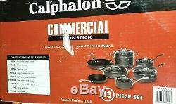Calphalon Commercial Batterie De Cuisine 13 Pièces Set Nouveau O / B