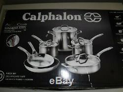 Calphalon Premier Acier Inoxydable 10 Pièces Batterie De Cuisine