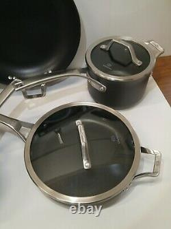 Calphalon Signature 10 Pièces Hard Anodized Cookware Set Antistick New Other
